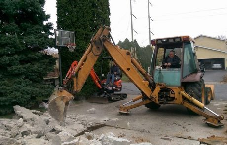 Excavating 6