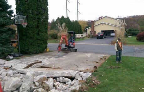 Excavating 7
