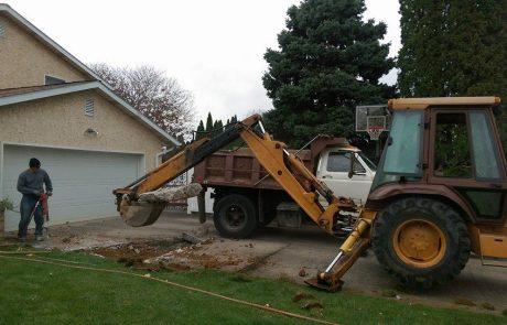 Excavating 9